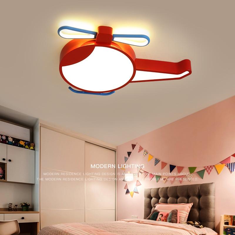 Modern LED Ceiling Lights for Kids living room Bedroom AC85 265V Modern LED Carton Airplane Children lights LED Ceiling lamp|Ceiling Lights| |  - title=