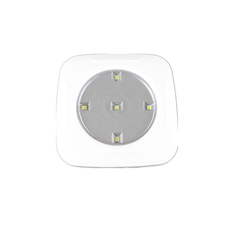 Pat светильник 1 drag 3 квадратный светодиодный небольшой ночной Светильник прикроватный светильник для спальни коридор беспроводной пульт
