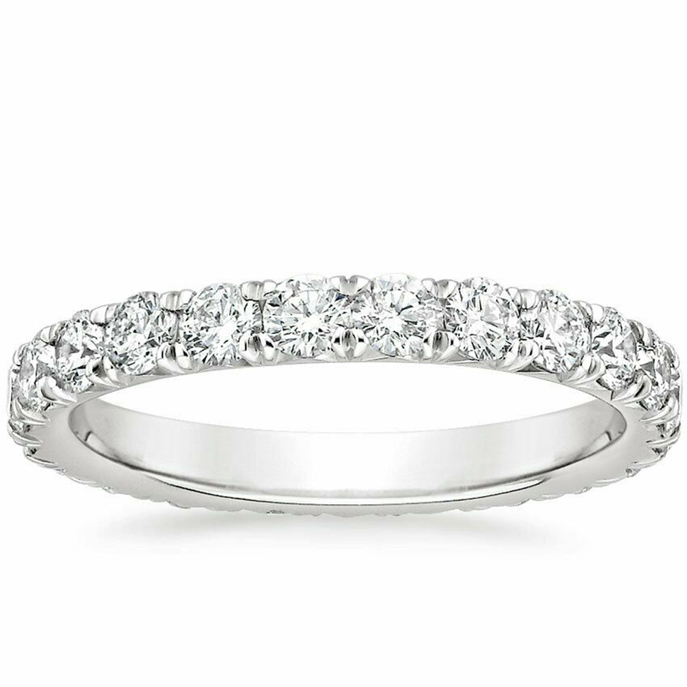 <font><b>Real</b></font> Solid <font><b>925</b></font> Sterling Silver Diamond <font><b>Rings</b></font> finger Solitaire Simple Round Thin <font><b>Rings</b></font> <font><b>for</b></font> <font><b>Women</b></font> Element Band <font><b>Ring</b></font> fine jewelry image