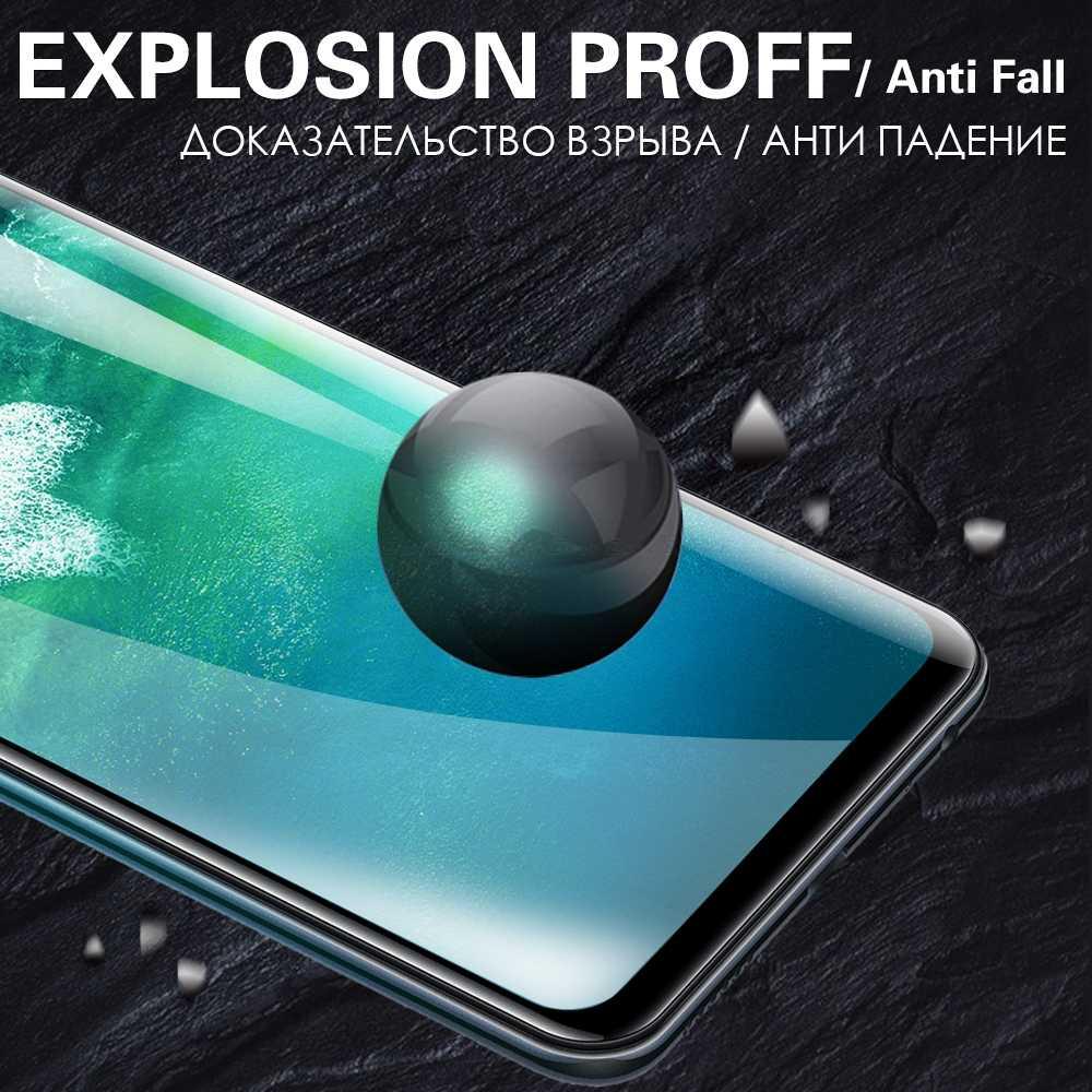 5D Bordo Curvo Copertura Completa Dello Schermo In Vetro Temperato Protector Pellicola Protettiva Per Xiaomi Mi 9T 9 SE 8 A3 a2 Lite Nota 10 Pro