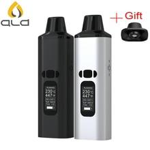 Original ALD AMAZE dry herb vaporizer kit 1800mAh battery smoke herbal electronic cigarette vaporizer portable vape pen kit