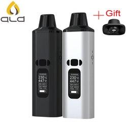 Original ALD AMAZE hierba seca vaporizador kit 1800mAh batería fumar de hierbas cigarrillo electrónico vaporizador portátil vape pen kit