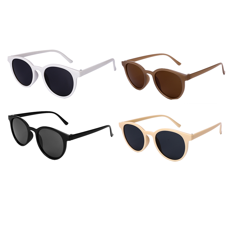 Unisex Sunglasses Retro Classic Polarized Mirror Round PC UV Protection Sunglasses Eyewear 2020 New Sunglasses