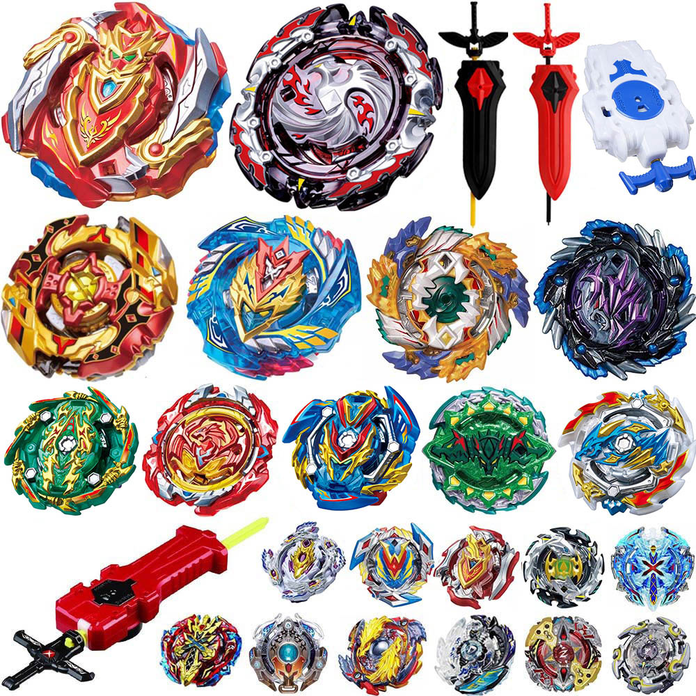Tops Launchers Beyblade Metal Fusion B-143 Burst GT Toys Arena Metal God Bayblade GT Spinning Top Bay Bey Blade Blades Toy