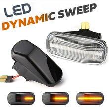 2Pcs Dynamic LED Side Marker Light Turn Signal Blinker Lamp For City Jazz Fit HRV Stream S2000 AP1 AP2 Integra DC5 Civic Accord