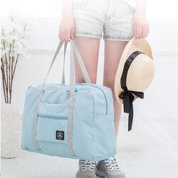 Foldable Easy Travel Bags Portable Large Capacity Clothes Storage Luggage Organizer Waterproof  Eco Duffle Handbag Unisex