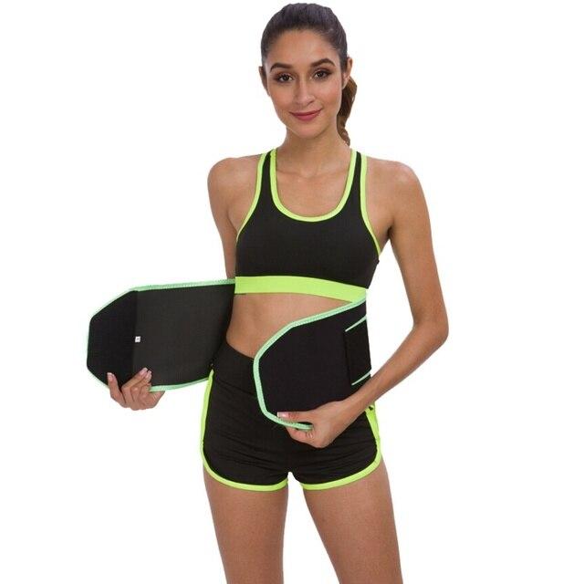 Ladies Weight Loss Body Sculpting Sweat Belt Sauna Waist Coach Fitness Accessories 1