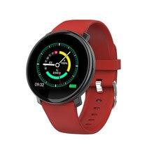M31 relógio inteligente dos homens do esporte de fitness rastreador pulseira tela cheia toque monitor freqüência cardíaca smartwatch para android ios