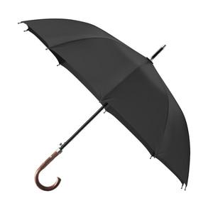 Image 5 - OLYCAT New Arrival Long Rain Umbrella Men Women Business Wooden Handle Large Umbrella Windproof 10Ribs Glass fiber 300T Paraguas