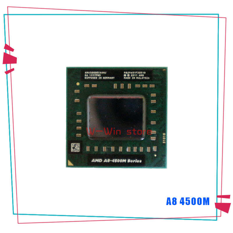 Amd A8 Series A8 4500m A8 4500m 1 9 Ghz Quad Core Quad Thread Cpu Processor Am4500dec44hj Socket Fs1 Aliexpress