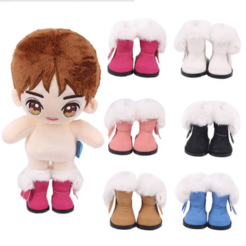 Doll Shoes 5 Cm 6 Colors Available Boots For 14.5 Inch Nancy American Doll&BJD EXO Doll Boots Doll Generation Girl`s Toys Shoes image