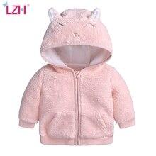 Coat Jacket Newborn-Baby Hooded Fleece Toddler Girls Autumn Infant Boys Winter Cute 12M