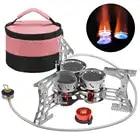 Lixada 8000 Вт портативная газовая плита наружная ветрозащитная походная горелка для кемпинга оборудование для походов путешествия - 1