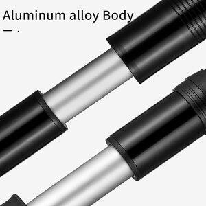 Image 2 - ROCKBROS rower pompa Mini przenośne 110 PSI ciśnienie stopu aluminium dla MTB pompa powietrza opona rowerowa Inflator akcesoria rowerowe
