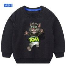 baby Boy sweatshirt Games Can Talking Tom Cat Prints Child Summer Shirt and His Friends cool Fashion Sweatshirts toddler
