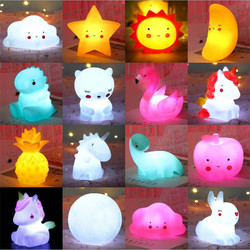 100% Safe Cute Smiley Clouds Stars Moon Appease Glow Night Light Feeding Light Baby Sleep Light Toy Kids Christmas Gifts