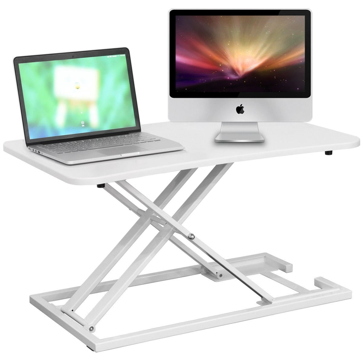 D,2019 Stand-up Computer Lifting Table Foldable Computer Desk Stand Lift Table Work Station Stand With Standing Desk
