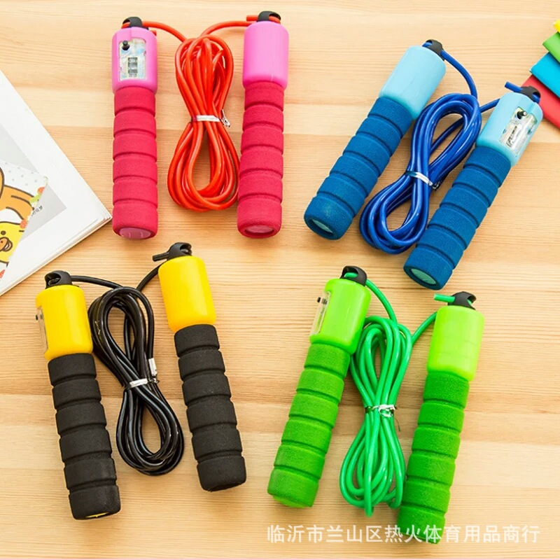 Rubber Count Sponge Set Jump Rope Children The Academic Test For The Junior High School Students Game Athletic Adult Children Fi