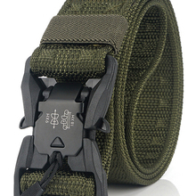 Military-Belt Sports-Accessories Magnetic-Buckle Hard-Pc Quick-Release Official Nylon