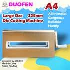 DUOFEN stanzen maschine A4 225mm 8 zoll schneiden stirbt präge leder stoff schneiden für DIY Sammelalbum Papier Album 2019 neue - 2