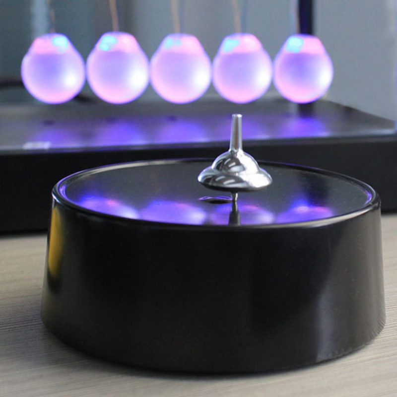 Magical Intelligent Moving Magnetic Gyroscope Gyro Perpetual Motion Never Stopping Classic Forever Finger Spinner For Adult Rr