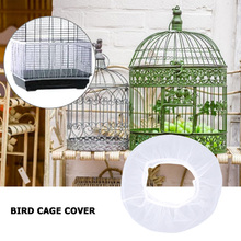 Skirt Cage-Covers Bird-Cage Airy Parrot Mesh 2-Sizes Net-Shell Catcher-Guard Dust-Proof