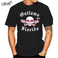 Men T Shirt Support Your Local Outlaws Florida Mc sh Women tshirt