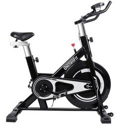 Динамический велосипедный спортивный велотренажер с монитором, регулируемое сиденье и руль, велотренажер, оборудование для фитнеса, трени...