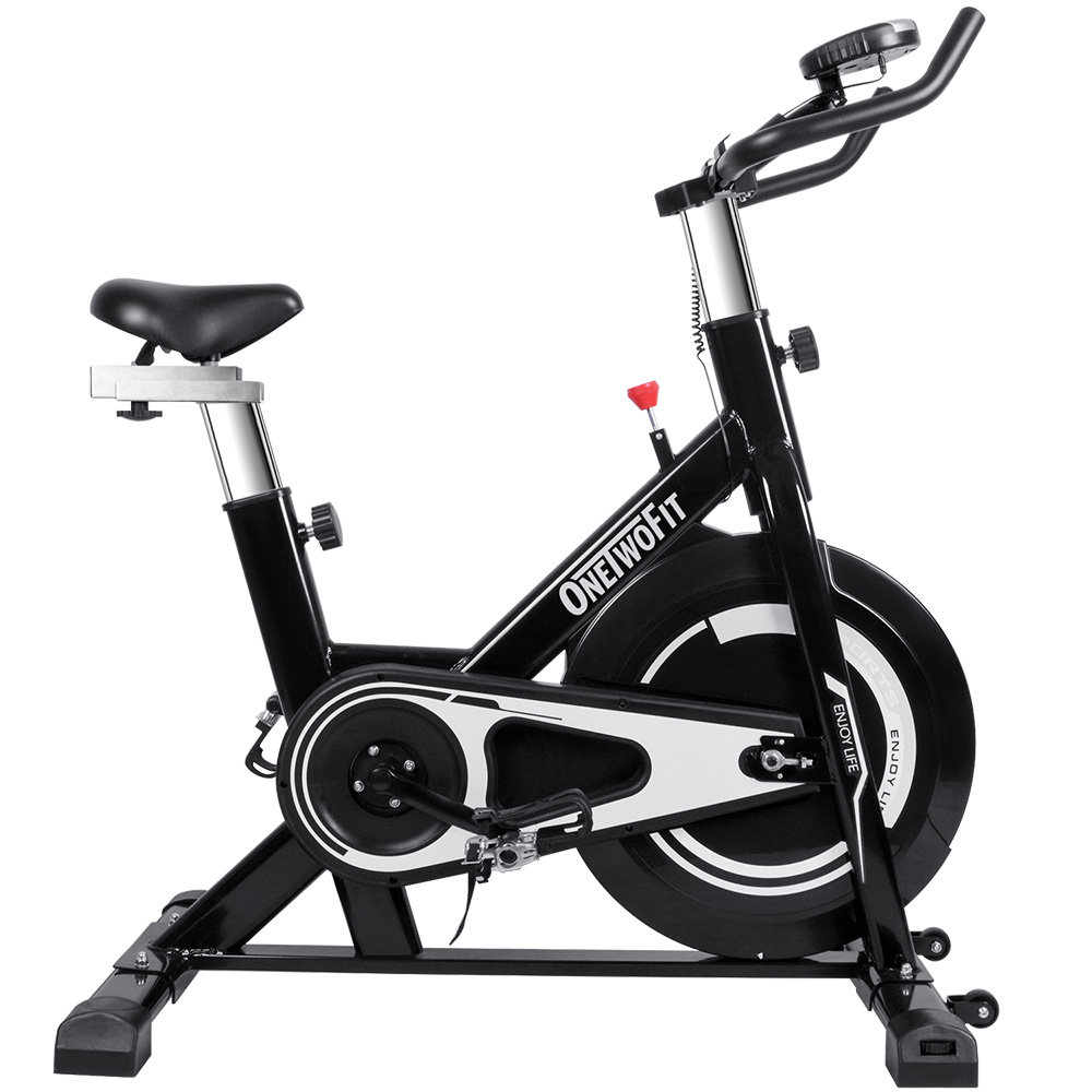 Dynamic Bicycle Sport Exercise Bike With Monitor Adjustable Seat & Handlebars Cycling Spinning Bike Fitness Equipment Workout