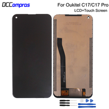 Original For OUKITEL C17 Pro LCD Display Touch Screen Digitizer Repair Parts Assembly For OUKITEL C17 Screen LCD Display 5 5 inch 1280 720 lcd screen for original oukitel u7 pro lcd display with touch screen assembly repair parts phone in stock