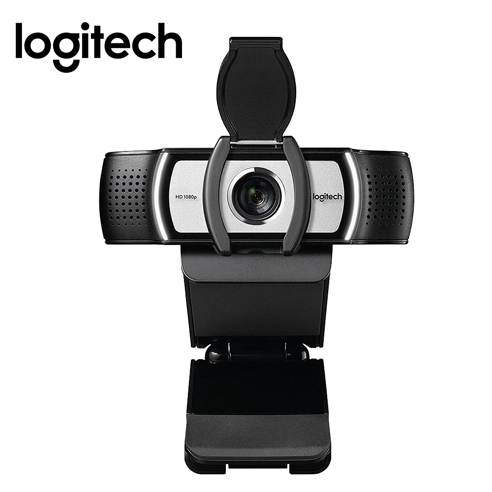 Original Logitech C930c HD Smart <font><b>1080P</b></font> Webcam with Cover for Computer Zeiss Lens USB Video camera 4 Time Digital Zoom <font><b>Web</b></font> <font><b>cam</b></font> image