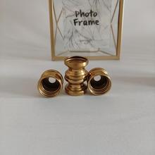 Абаджур поделки креатив золото двойное кольцо лампа основание укрепление приспособление