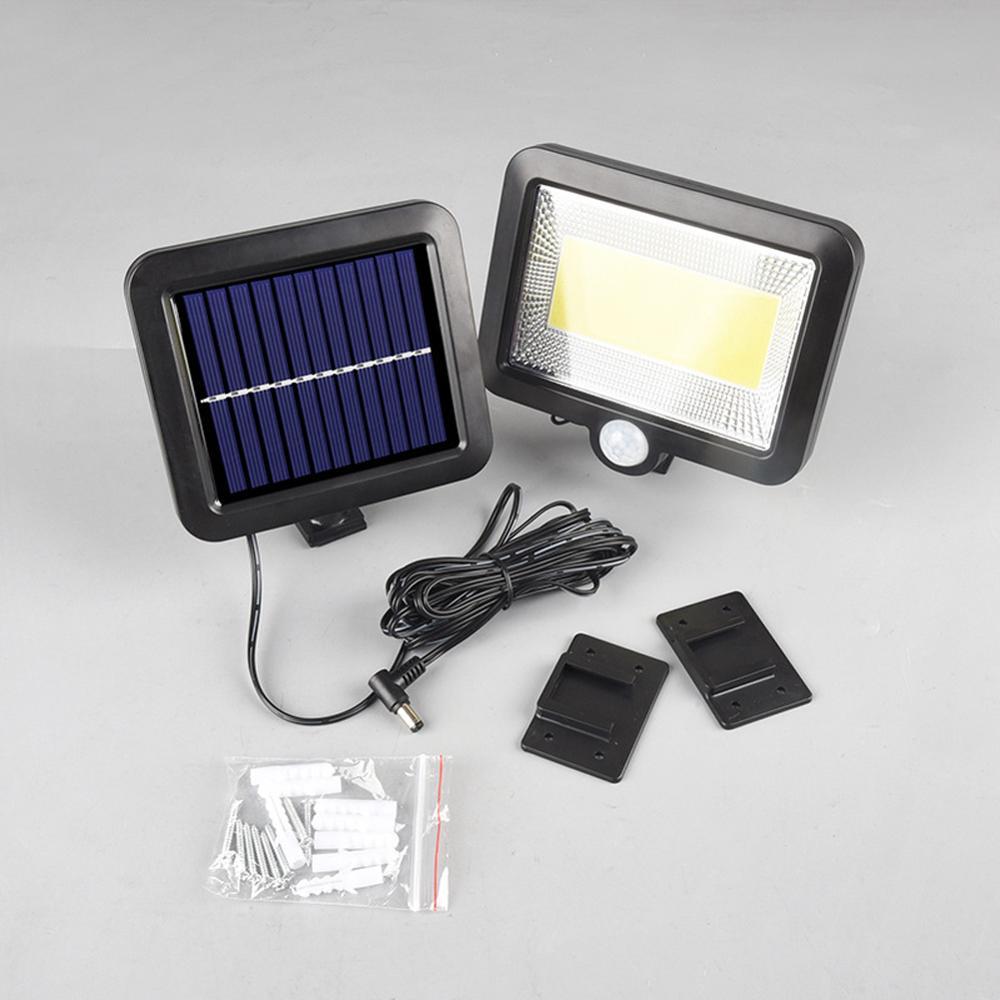 30W 100LED Solar Power Sensor Motion Light Garden Flood Lamp Security Wall Lamp*