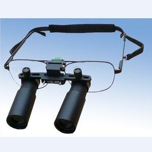 Image 4 - Keplerianas estilo Binocular Dental lupa 3X 4X 5X 6X 7X lupas médicas quirúrgicas ENT microscopio 3.5X 4.5X 5.5X gafas lupa