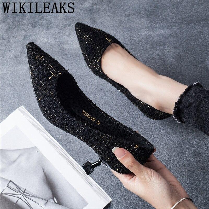 Evening Shoes Kitten Heels