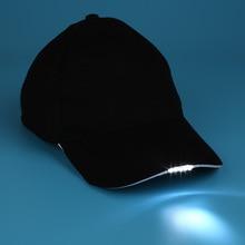 Мода 5 освещенных кепки Хэллоуин Унисекс Рыбалка бейсбольная шляпа подарки