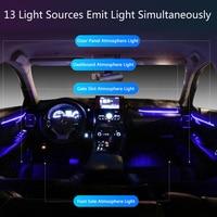 LED Ambient Light Suitable for Lexus NX 2018-2021 64-color car interior atmosphere light trim light atmosphere light modificatio 2