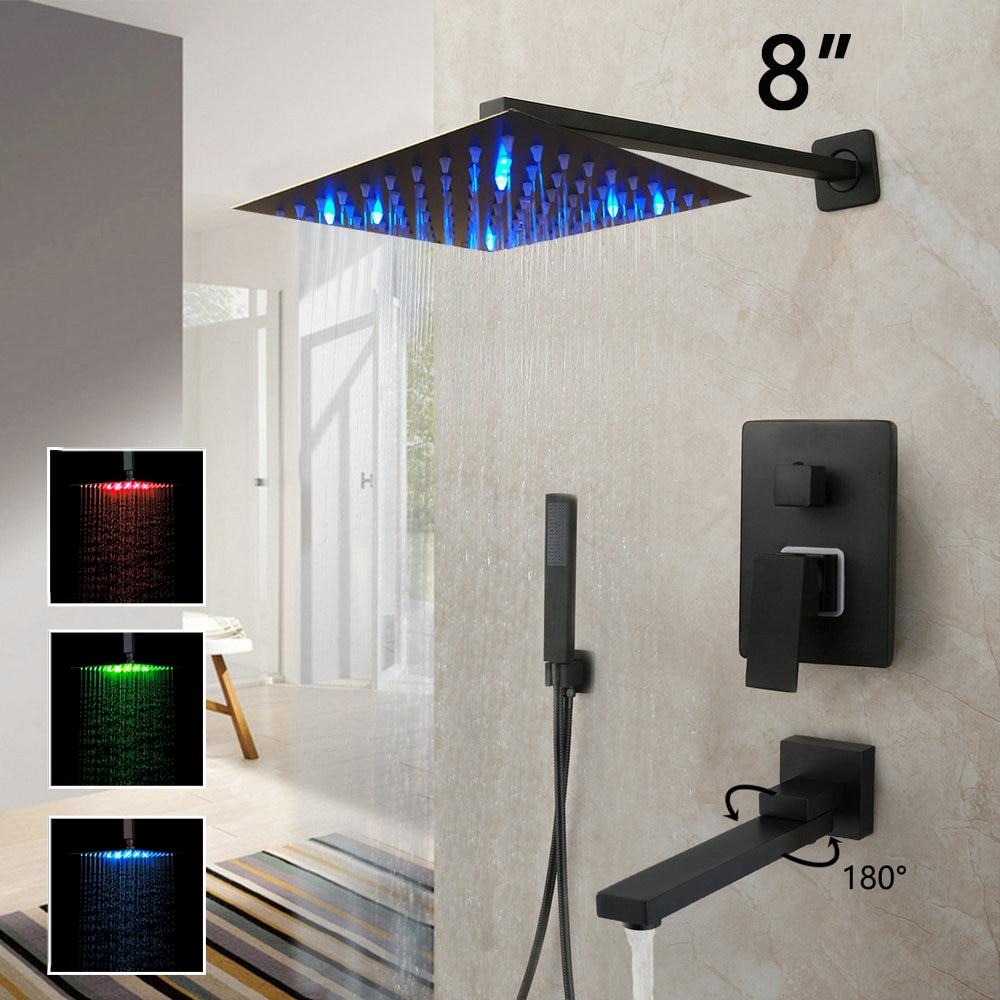 LED 8 Inch Shower W2