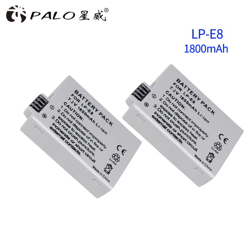 <font><b>Battery</b></font> Pack LP-E8 Rechargeable <font><b>Battery</b></font> LP-E8 Lp E8 For <font><b>Canon</b></font> 550D 600D 650D <font><b>700D</b></font> X4 X5 X6i X7i T2i T3i T4i T5i DSLR Camera 0.11 image