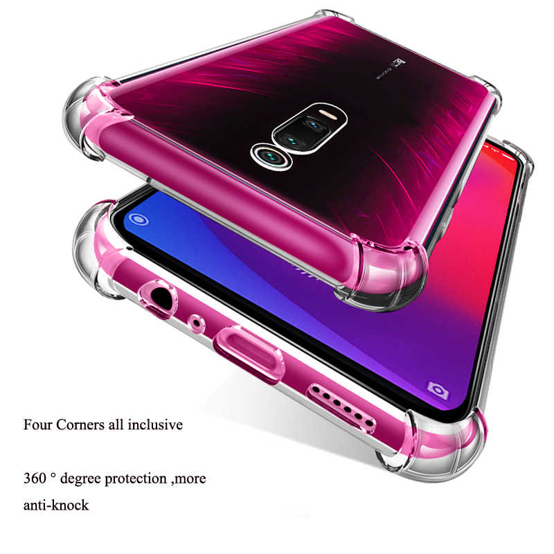 Soft TPU Case For Redmi K20 Pro 7 Go Note 8 7 6 5 Pro 5A 5A Ultra Thin Airbag Cover For Xiaomi Mi 9 SE 8Lite F1 5X 6X Shockproof