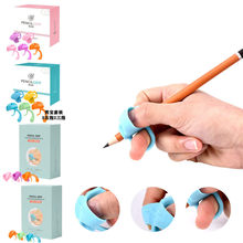 Stationery Silicone Pen-Holder for Student Writing-Correction-Device Posture Children