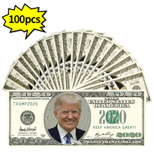 Трамп 2020 поддельные бумажные деньги с денежным пистолетом делают его дождем 100 USD доллар банкнот Опора деньги игрушечный пистолет подарки д...