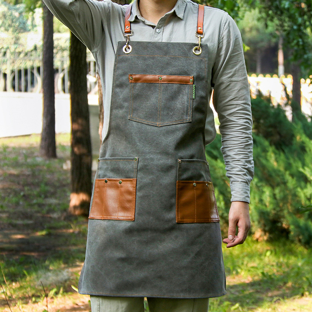 Canvas Kitchen Aprons For The Home Chef