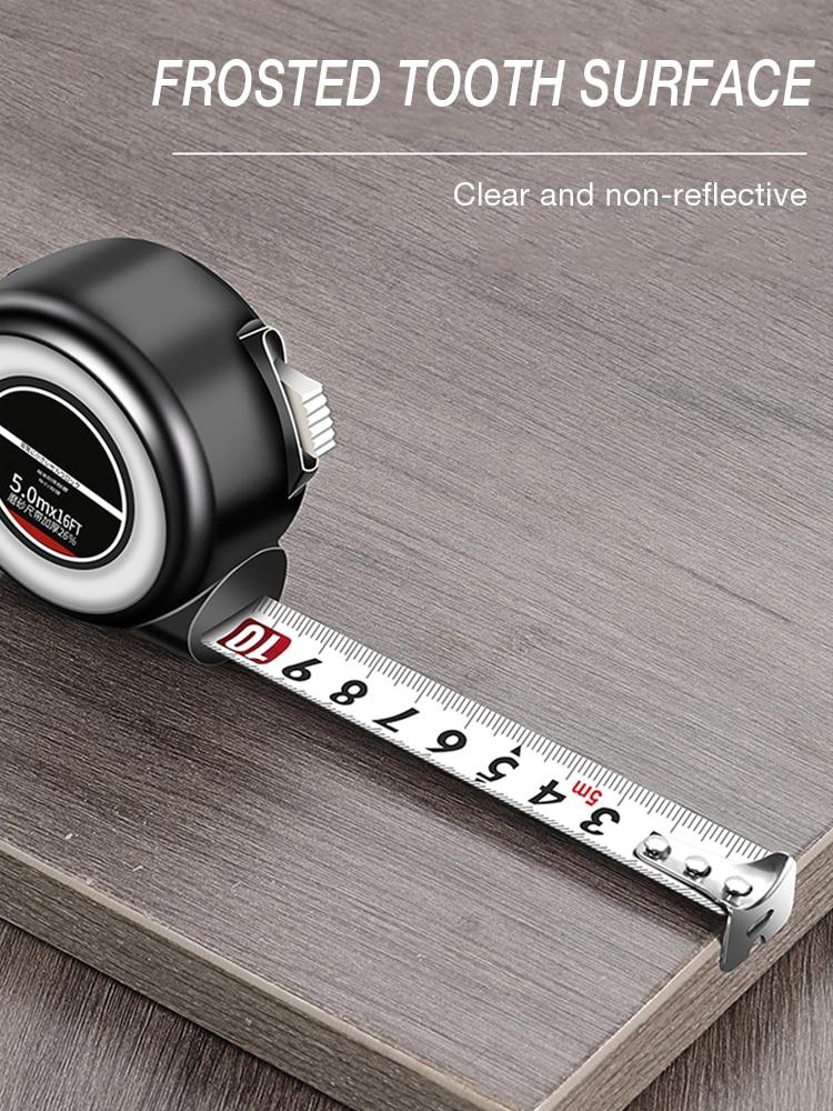 Купить 3/5/75m self locking tape measure roulette double sided steel