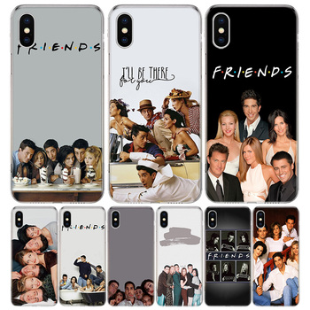 Friends Tv Show Funny Family Phone Case For Apple IPhone 11 12 Pro Mini XR X XS Max 7 8 6 6S Plus + 7G 6G 5 SE 2020 Luxury Patte image