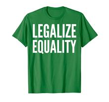 Social ativista presente t camisa-legalizar igualdade