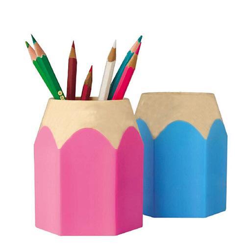 Desk Pencil Storage Box Pen Holders Pen Pencil Pot Makeup Brush Holder Stationery Desk Tidy Container Home Storage Organizer
