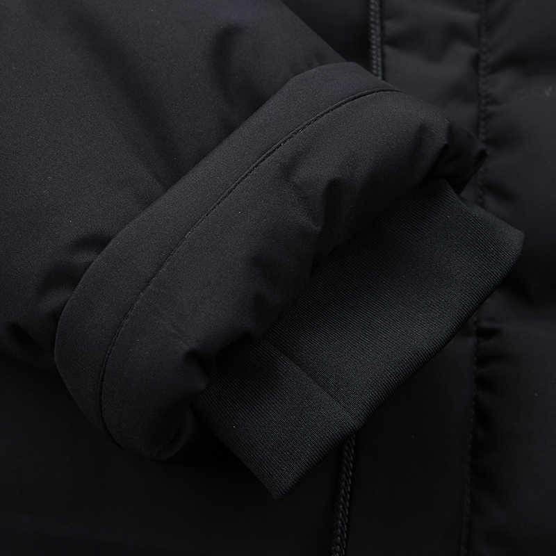 Nuovo Più Il Formato 8xl 7xl Giacca Invernale Caldo per Gli Uomini Cappotti Allentati Casual Mens Cappotto Spesso di Sesso Maschile in Cotone Sottile Casuale imbottito Casuale Caldo