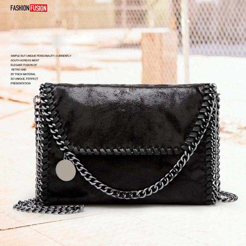 Fashion chain bags for women 2019 luxury handbags designer shoulder crossbody bag hand sling shopper messenger bolsa feminina
