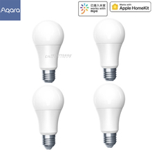 Aqara Zigbee bombilla LED inteligente Zigbee versión 9W E27 2700K 6500K Color blanco inteligente bombilla LED con mando a distancia de luz con Kit de casa